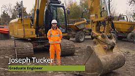 Meet Joe who started as a summer placement and is now one of our graduate engineers