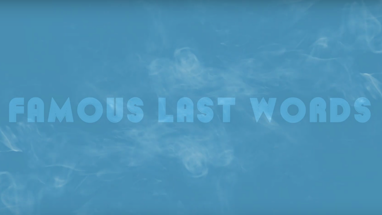 Famous Last Words Podcast