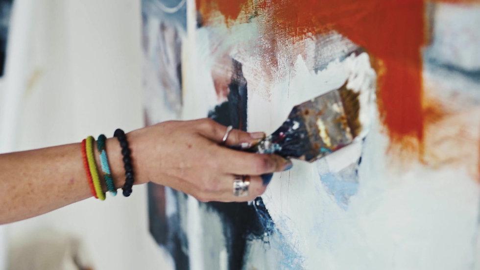 Maryanne Hawes - In The Studio