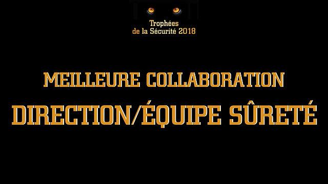 Trophées Sécurité 2018