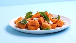 Harissa Sweet Potatoes