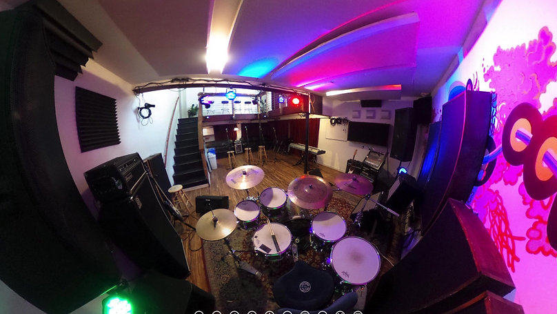 Live Room Behind Drumset (Downstairs)
