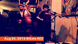 August 24, 2016 @ Gate 403