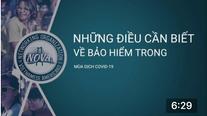Thông tin về bảo hiểm sức khoẻ trong mùa COVID 19