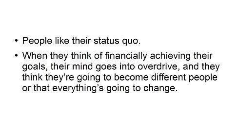 Change Your Status Quo