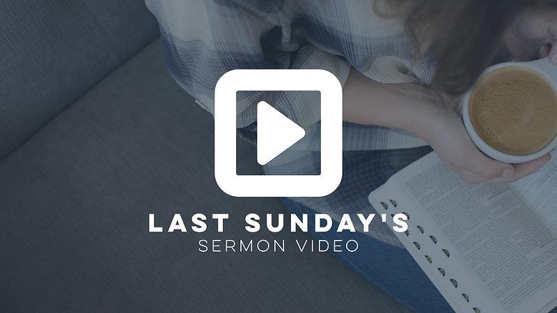 Latest Sermon