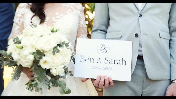 Ben & Sarah/ wedding video, gold coast
