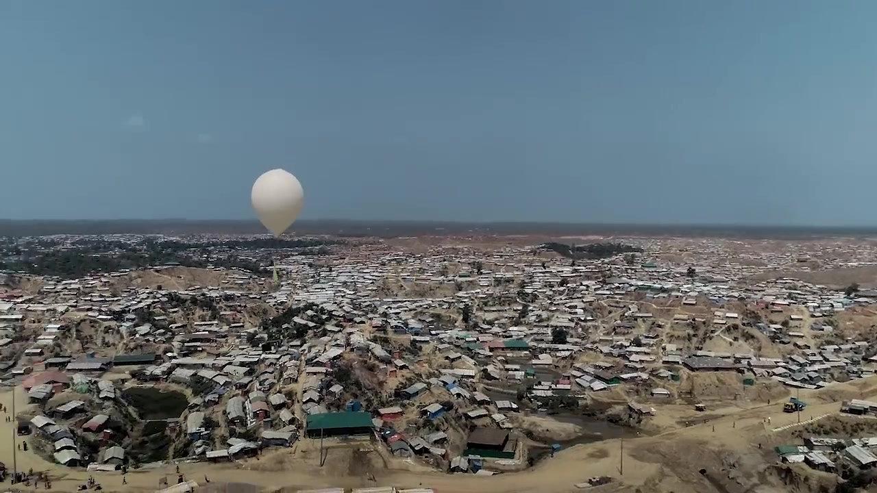#SpaceOnEarth BRAC Rohingya Refugees
