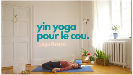 yin yoga pour le cou