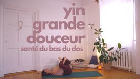 Yin Grande Douceur / bas du dos