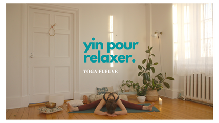 yin pour relaxer