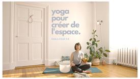 yoga pour créer de l'espace