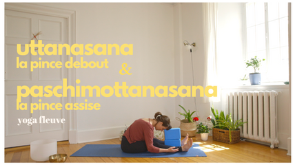 uttanasana & paschimottanasana