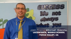 LaContenta Middle School, Assistant Principal's Review