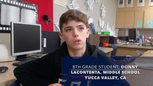 Yucca Valley, CA LaContenta Middle Student Review