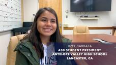 Lancaster, CA AVHS ASB Student President Review