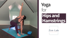 Yoga Flow for Hips, Hamstrings, and Inspiration