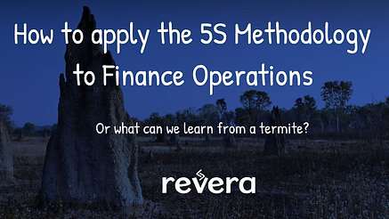 How to apply Lean 5S to Finance Operations