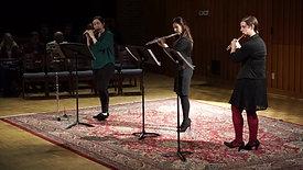 """""""La danse des fées"""" from Tableaux féeriques, Op.40 (flute trio) by Dimitri Tchesnokov"""