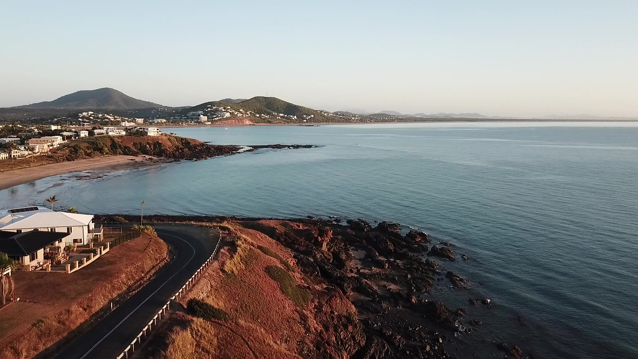 Cooee Bay Yeppoon Queensland Aerial Drone Video