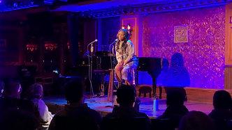 """""""Burn""""- Krystal Joy Brown Sings Live For Broadway Workshop at the historic 54 Below! -May 12th, 2021"""