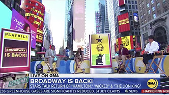 "Krystal Announces the Return Of  Broadway on ""Good Morning America""!"