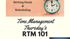 Time Management - Goals from Christ's Perspective