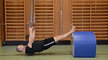 Chins programmet - Steg 3 - Rodd i ringar med fötterna på en förhöjning
