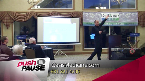 Dr. Dave Gentile - FiOS 1 News Push Pause Long Island