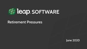 Leap Software Lab - Retirement Pressures
