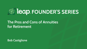 The Pros and Cons of Annuities for Retirement