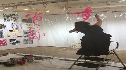 Miki Nakashima Live performance at Scope International Art Fair 2018
