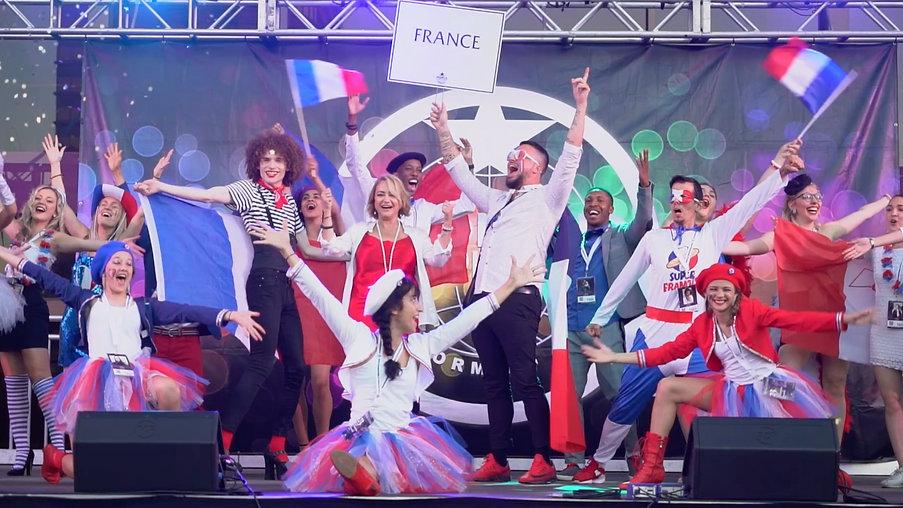 Revealing The Stars - Team France & Switzerland