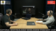 Natural Bodybuilding Worldwide Podcast Live with special guest DAFC Pro Mark Claxton