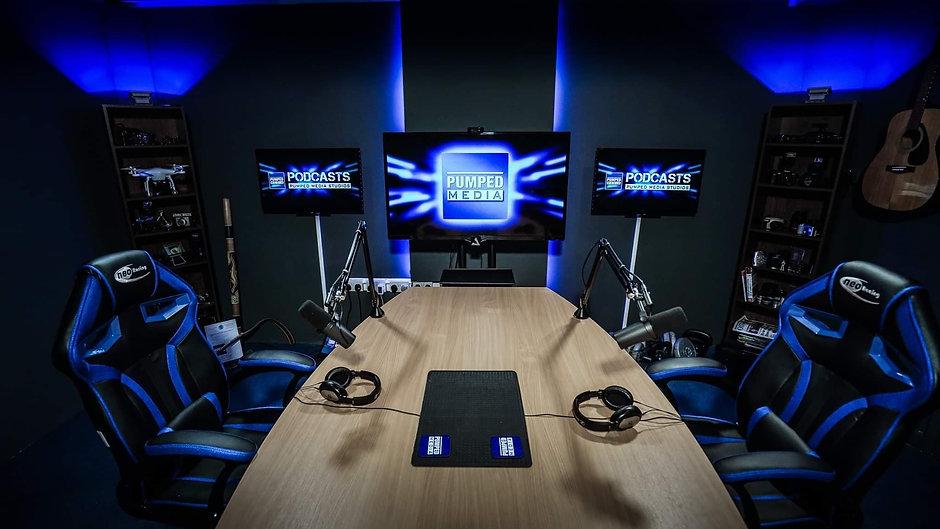 Pumped Media Studios Podcasts
