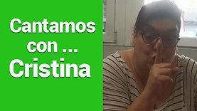 Cantamos con... Cristina