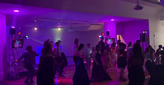 quinceanera DJ party dancing lights photo booth