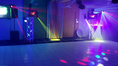 corporate party Set up
