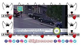 EL MOMENTO EN EL QUE PABLO LYLE  GOLPEA A CUBANO