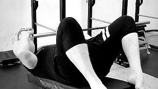 Decline Kettlbell Triceps Extensions