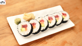 Runde Sushi-Rolle