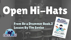 Open Hi Hat Patterns