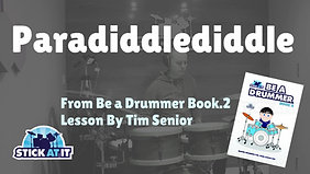 Paradiddlediddle Lesson