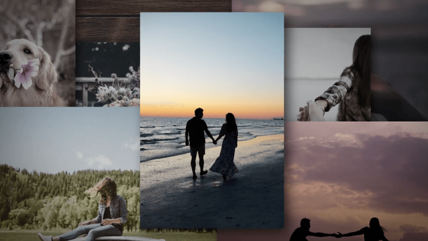 VidDay   Wedding Video Gift   Collage Theme Example