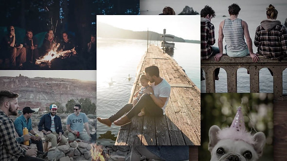Collage Theme  |  Birthday Video Example