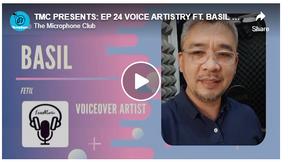 TMC PRESENTS: EP 24 VOICE ARTISTRY  FT. BASIL FETIL (Voiceover Artist Professional)