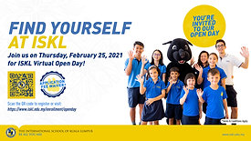 ISKL's Open Day Promotional Ad