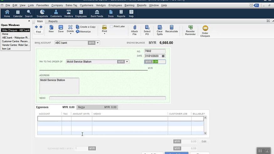 Daily Transactions using QuickBooks Desktop