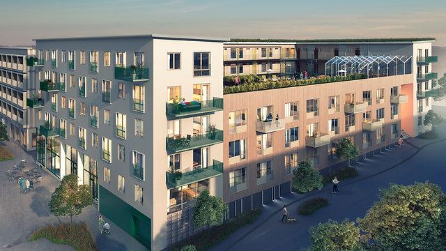 Fyrklövern 106 lägenheter för Unga Vuxna