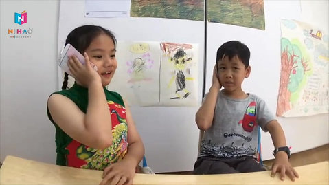1.7 years with Nihao | Age : 7 & 5